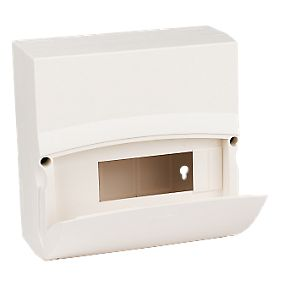 MK Sentry 6 Way 8 Module Insulated Consumer Unit Enclosure