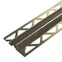 Homelux Aluminium Movement Joints 12.5mm x 2.5m 2 Pack