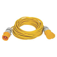 Carroll & Meynell 110V Extension Lead Yellow 2.5mm x 14m