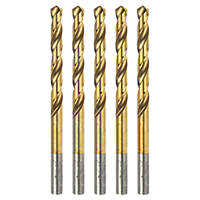 Erbauer Ground HSS Drill Bit 6mm Pack of 5