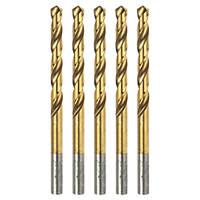 Erbauer Ground HSS Drill Bit 6mm Pack of 5