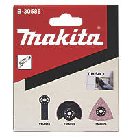 Makita Multi-Tool Tile Blade Set 3 Pieces
