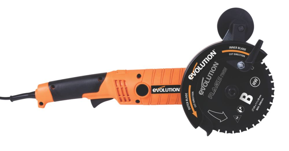 Evolution Rage Twin 155mm Multipurpose Twin Blade Saw 230V