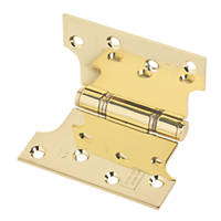 Eclipse Parliament Hinge Electro Brass 127 x 102mm 2 Pack