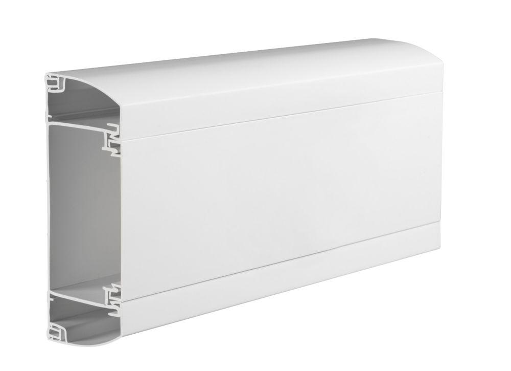 Mita Peri Trunking 150 x 60mm Dado Angle 6m Pack (3m x 2)