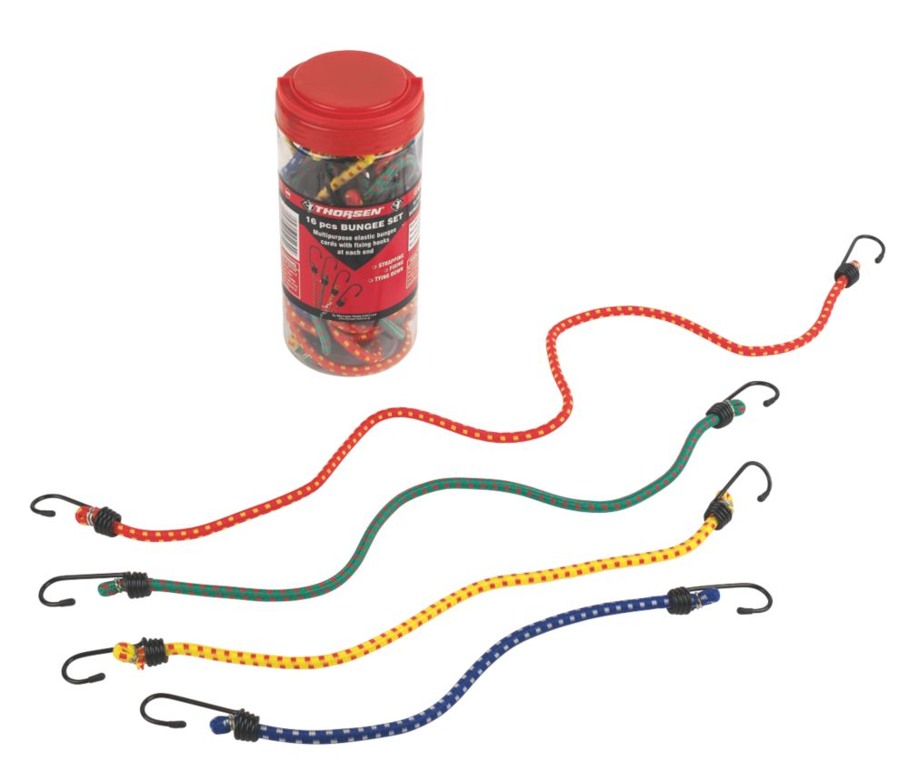 Thorsen Bungee Cord Set 16 Pieces