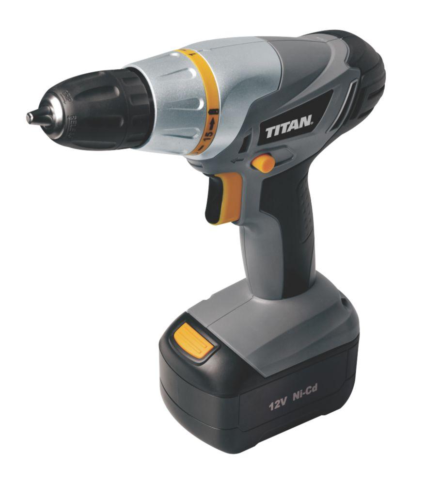 Titan TTC271DDH 12V Ni-Cd Cordless Drill Driver