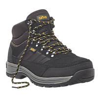 Site Jasper Hiker Safety Boots Black  Size 11
