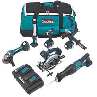 Makita DLX6000PM 18V 4.0Ah Li-Ion 6-Piece Cordless Power Tool Kit
