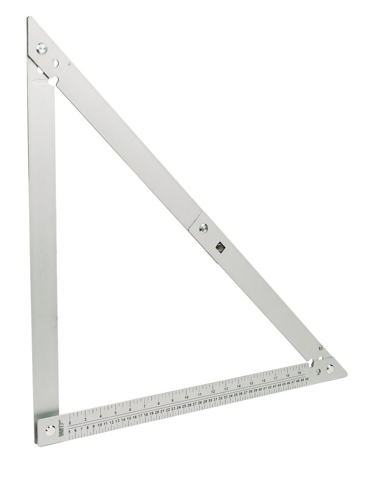 "Forge Steel 24"" Aluminium Folding Square"