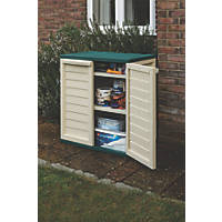 Rowlinson Plastic Utility Cabinet 2' 4 x 1' 6 x 0.9m