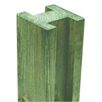 Forest Reeded Fence Posts 94 x 94mm x 2.4m 10 Pack