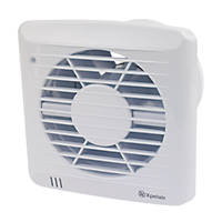 Xpelair 92667AW 34W Axial Kitchen Extractor Fan with Humidistat & Timer