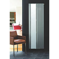 Ximax Oceanus Vertical Single-Panel Designer Radiator with Mirror Silver 1800 x 595mm