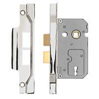 """Eurospec 2-Lever Rebated Sashlock Nickel plate 1¾"""" / 44mm"""