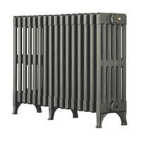 Arroll Victorian 6-Column Cast Iron Radiator Cast Grey 625 x 862mm