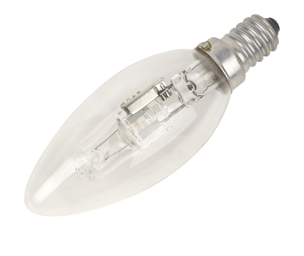 Sylvania Halogen Eco Candle Lamp SES 630Lm 42W