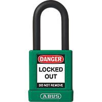 Abus Aluminium Keyed-Alike Lock-Off Padlock Green 19 x 38mm