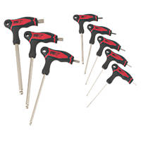 Forge Steel T-Handle Hex Key Set 8 Pieces