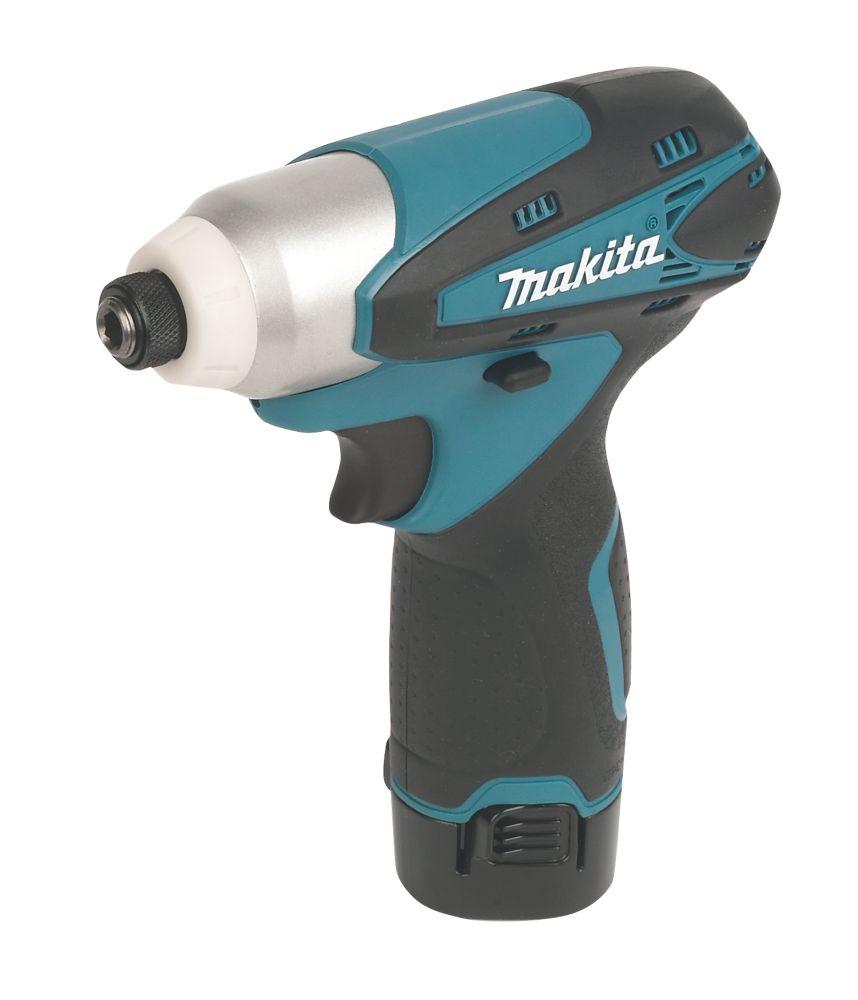 Makita TD090DWE 10.8V 1.3Ah Li-Ion Cordless Impact Driver