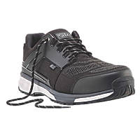 Site Agile Sports Style Safety Trainers Black  Size 9
