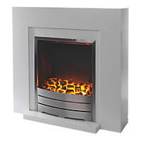 Beccles Electric Fireplace Suite White