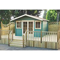 Shire Caledonian Log Cabin 4.1 x 4.1m