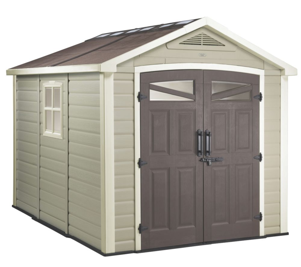 Keter Orion Apex Shed Plastic 8 x 9 x 8' (Nominal)