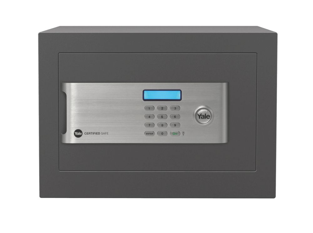 Yale YSM/250/EG1/B Certified Home Security Safe 18.6Ltr