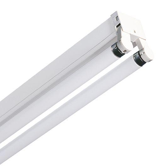 Pop Pack Switch Start Fluorescent Batten 2 x 58W 5ft (1500mm) Pack of 4