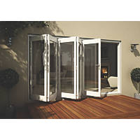 Jeld-Wen Wellington Slide & Fold Patio Door Set White 3594 x 2094mm
