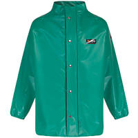 "Alpha Solway CMJH-EW Chemmaster Chemical-Resistant Jacket Green Large 53"" Chest"