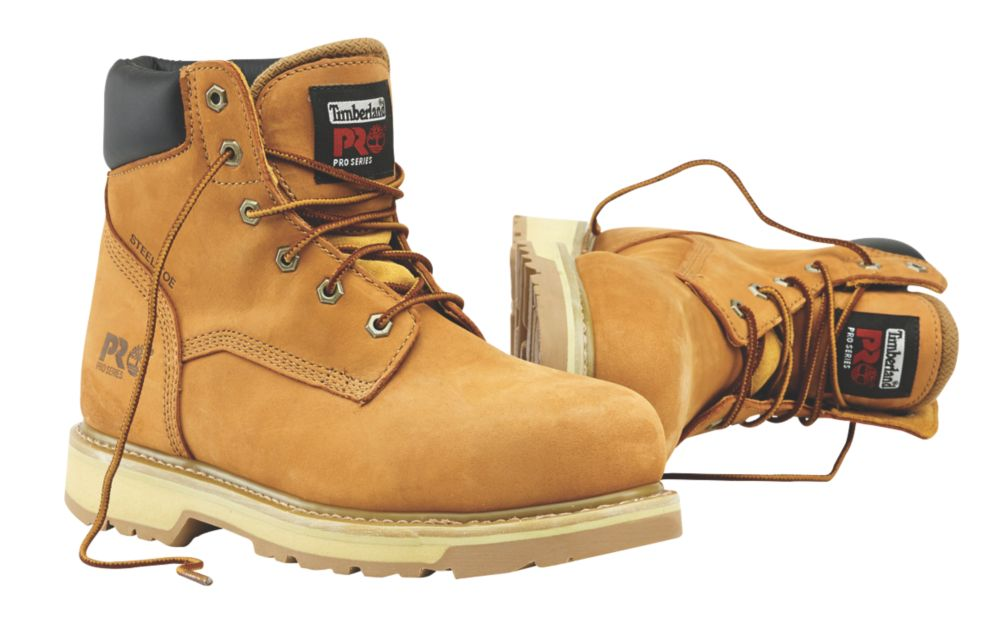 Timberland Traditional Safety Boots Wheat Size 12