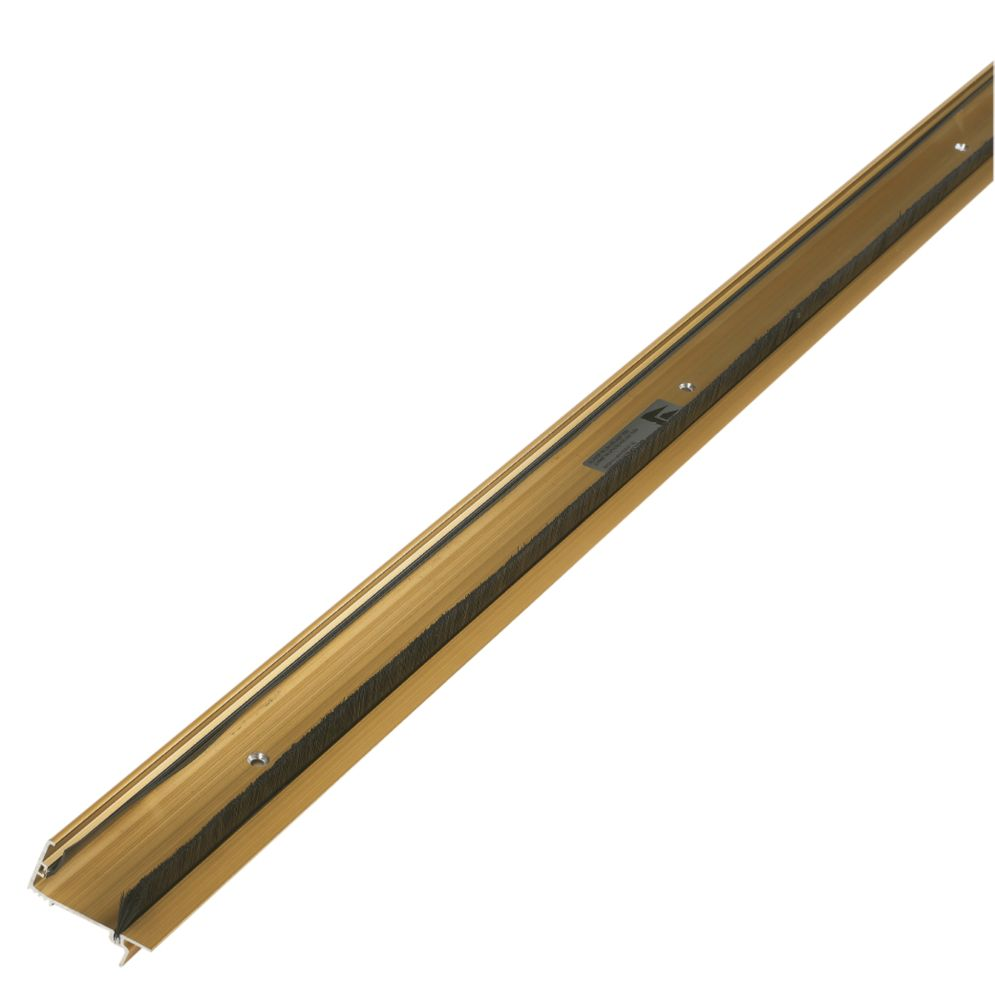 Classic Threshold Draught & Rain Excluder Gold Anodised 914mm