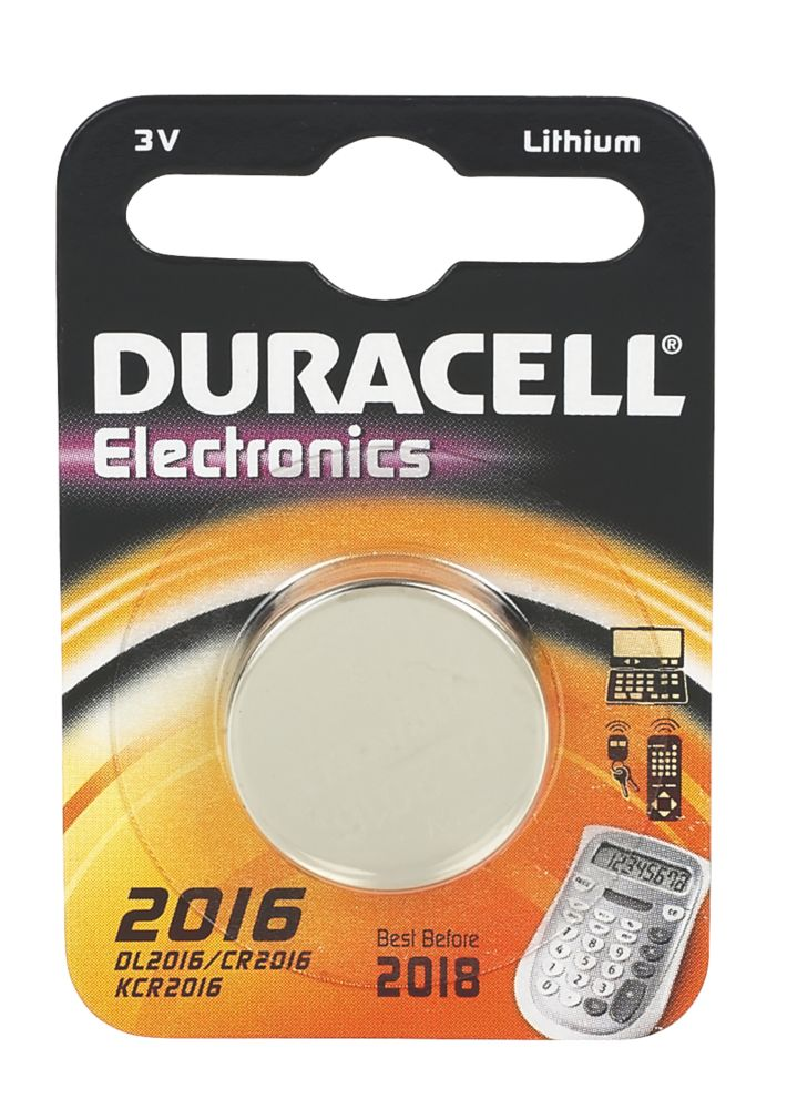 Duracell 2016 3V Li-Ion Coin Cell Battery