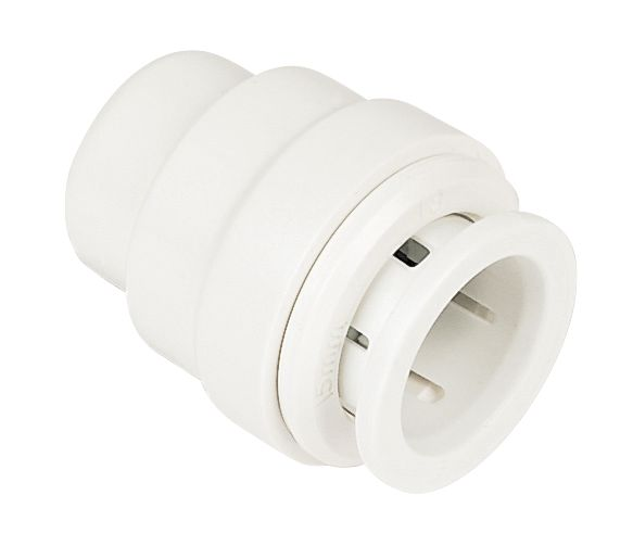 JG Speedfit PSE4615W Stop End 15mm Pack of 10