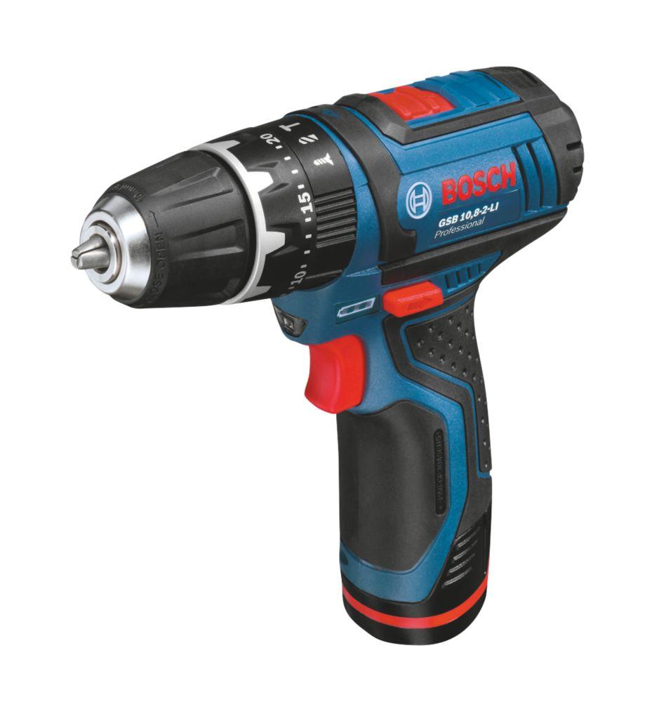 Bosch GSB 10.8VLI 10.8V 1.3Ah Li-Ion Cordless Combi Drill