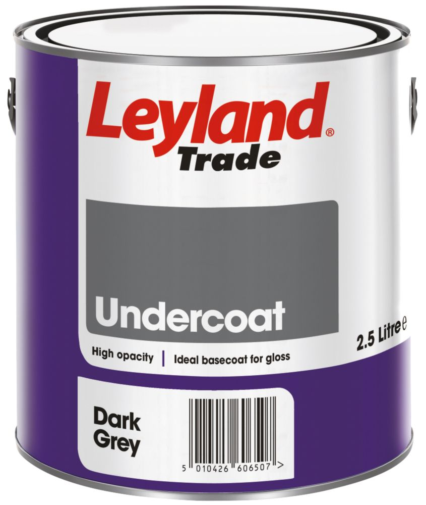 Leyland Undercoat Dark Grey 2.5Ltr