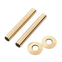 Arroll Pipe Shroud Kit Antique Copper 18 x 130mm 2 Pack
