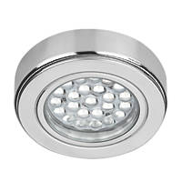 Sensio Round LED Cabinet Light Chrome