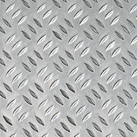 Aluminium Checker-Plated Sheet 600 x 750 x 1.5mm