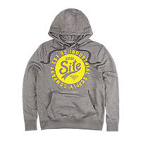 "Site Industry Hoodie Dark Grey Medium 40"" Chest"