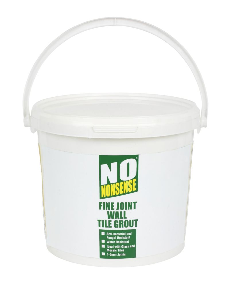 No Nonsense Fine Joint Wall Grout Creme 5kg