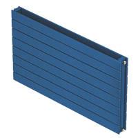 Moretti Modena Horizontal Double-Panel Designer Radiator Blue 578 x 1200mm