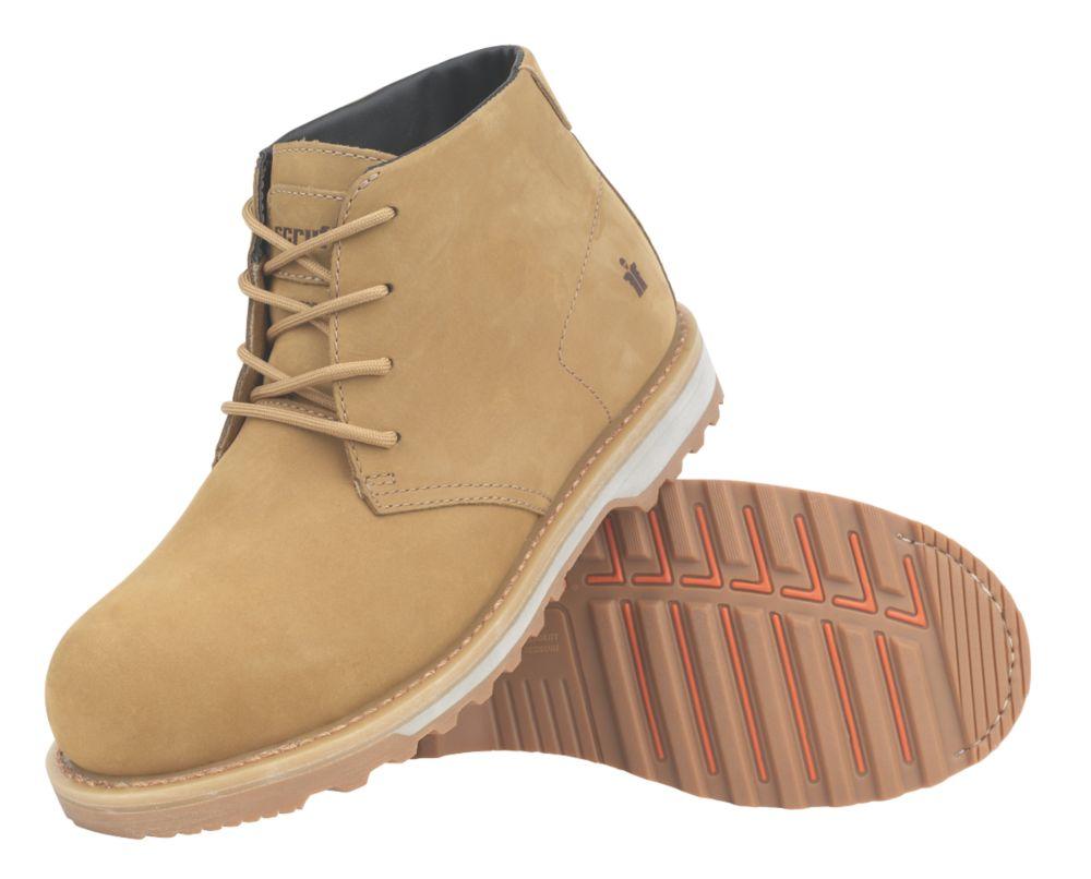 Scruffs Chukka Safety Boots Tan Size 7
