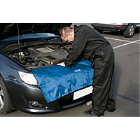 Laser Vehicle Protective Grill Cover Blue 1200 x 500mm Blue