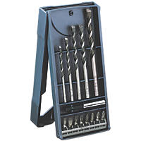 Bosch Mini-X-Line Combination Screwdriver & Drill Bit Set 14 Piece Set