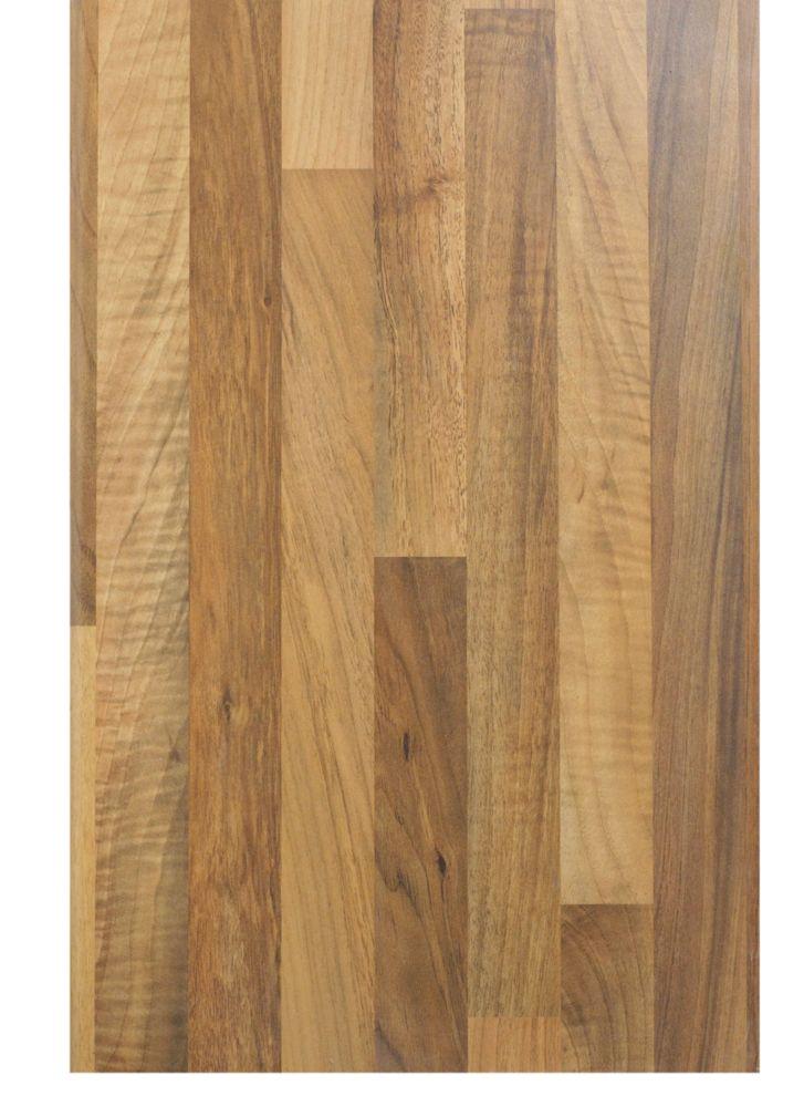 Bathroom Worktop Oak Effect 2200mm