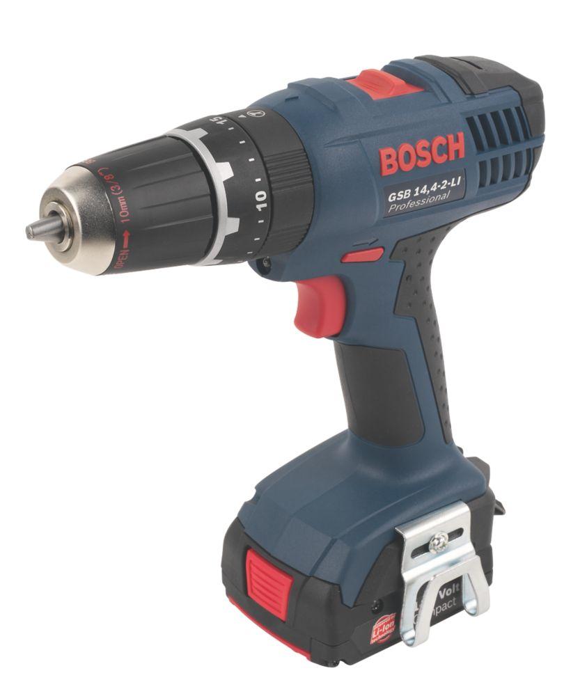 Bosch GSB 14.4 2-Li 14.4V 1.3Ah Li-Ion Cordless Combi Drill