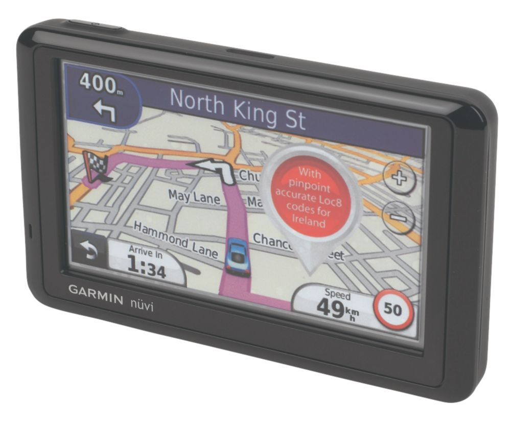 Garmin Nüvi 1310 SatNav Refurbished w/ In-Built Rechargeable Li-Ion Battery